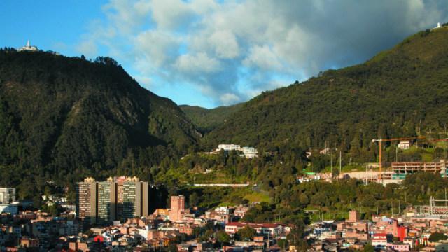 Plantación por la recuperación de los Cerros Orientales