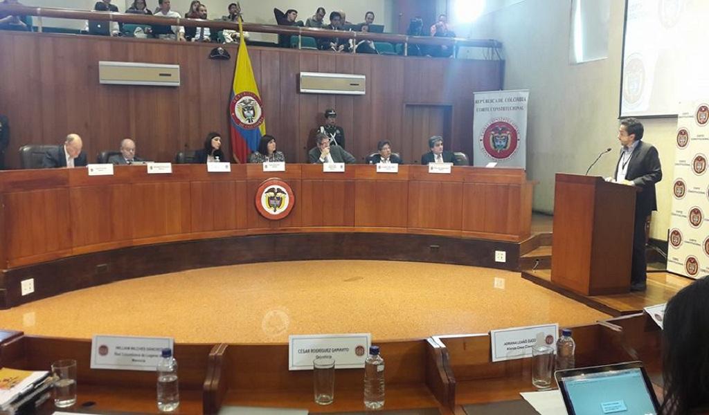 Foto: Facebook Corte Constitucional de Colombia