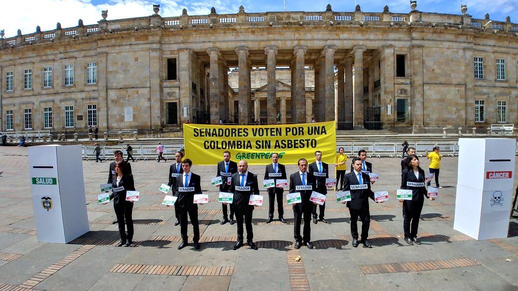 Greenpeace contra el asbesto