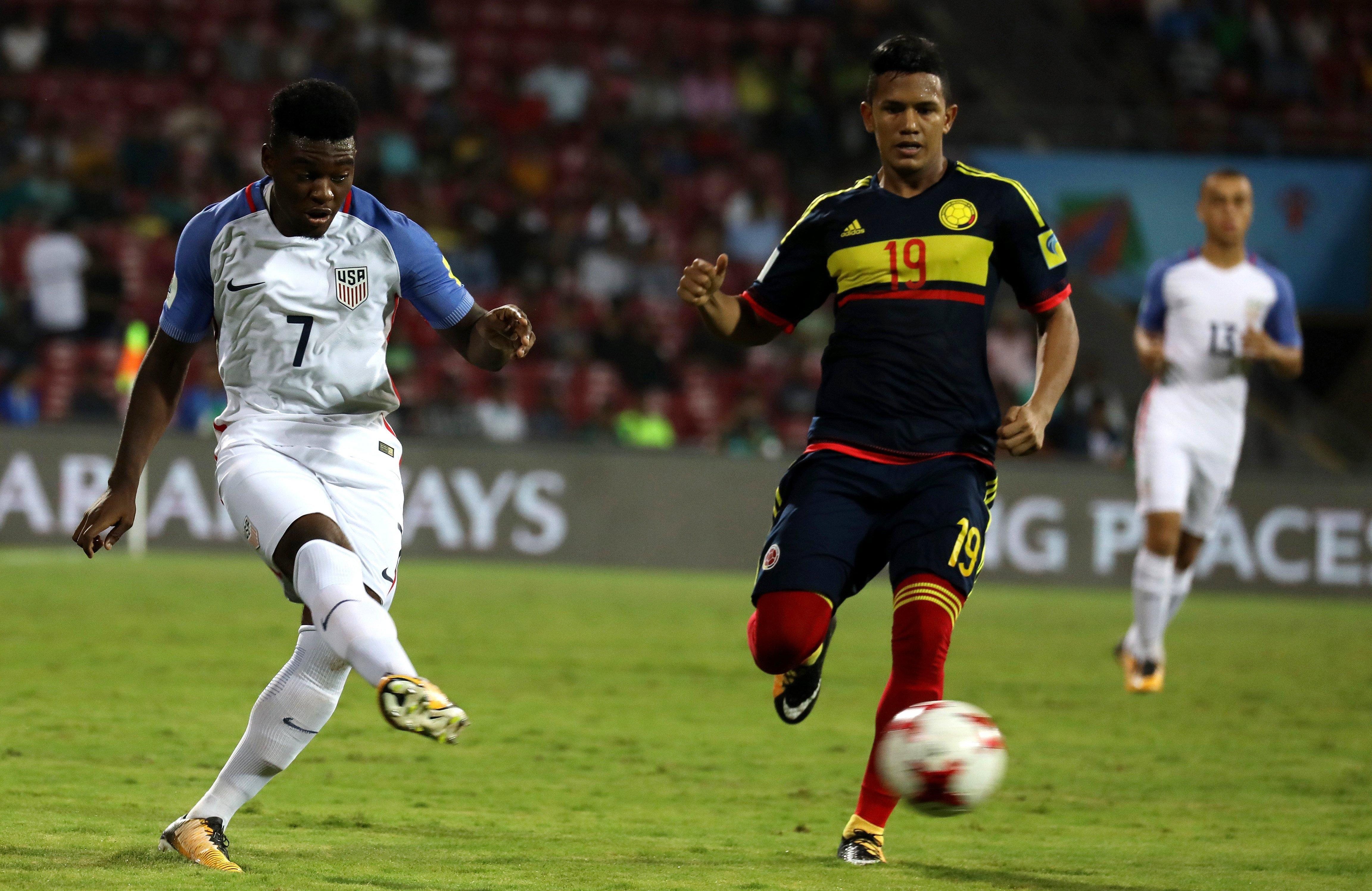 Selección Colombia vs Estados Unidos Sub 17
