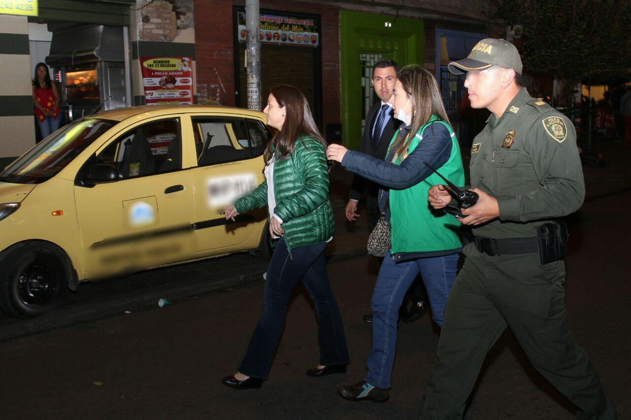 34 menores fueron rescatados por el ICBF en Bogotá