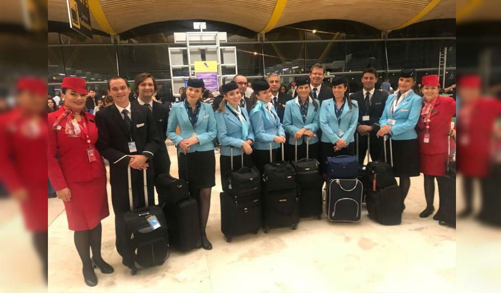 Avianca ya opera con tripulación extranjera