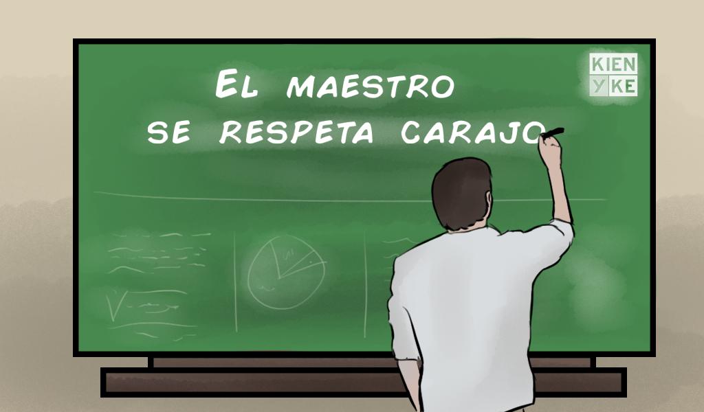 El grito de los maestros