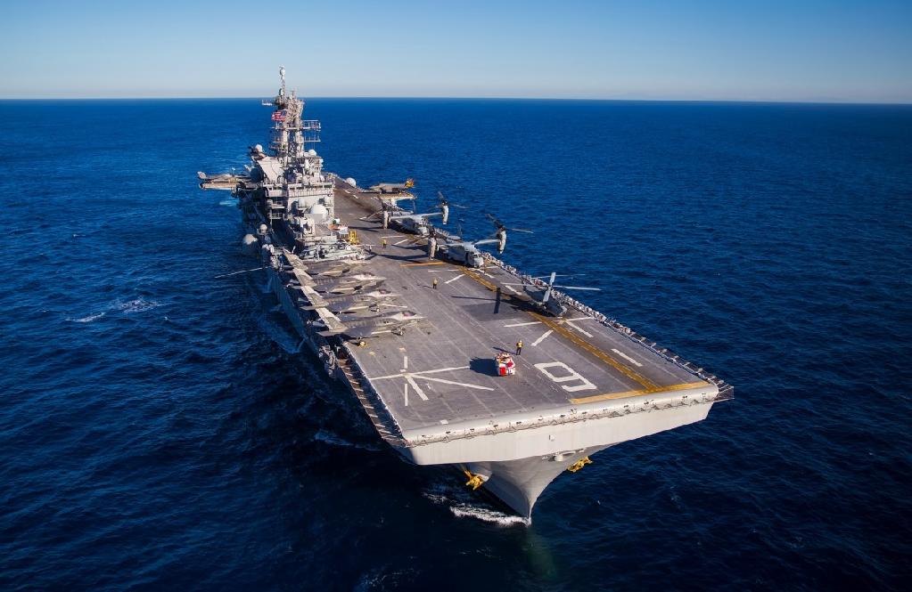Portaaviones de EE. UU. se acerca a costas norcoreanas