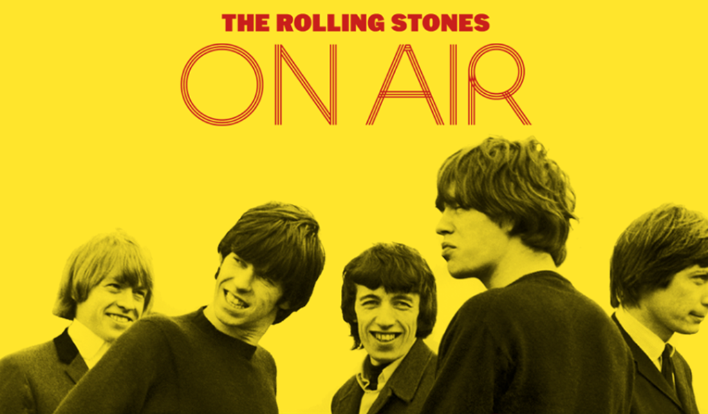 "The Rolling Stones prepara su nuevo álbum: ""On Air"""