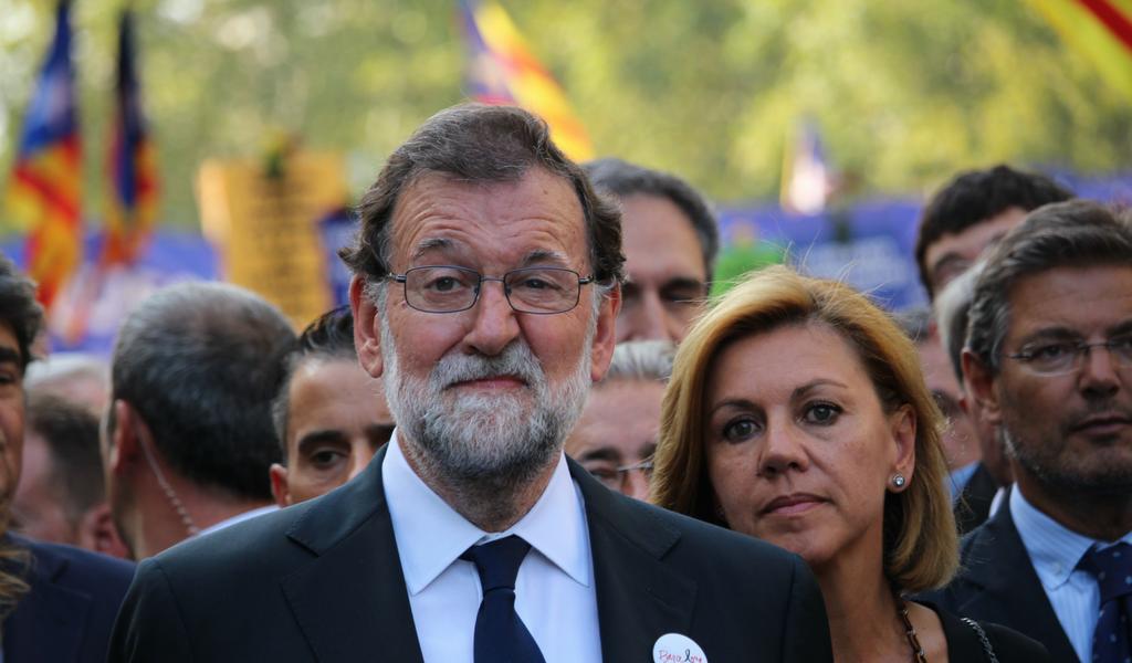 Rajoy: Recuperaremos la Cataluña de todos y con democracia