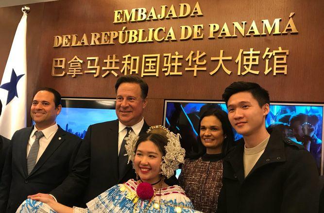 Panamá inaugura su embajada en China