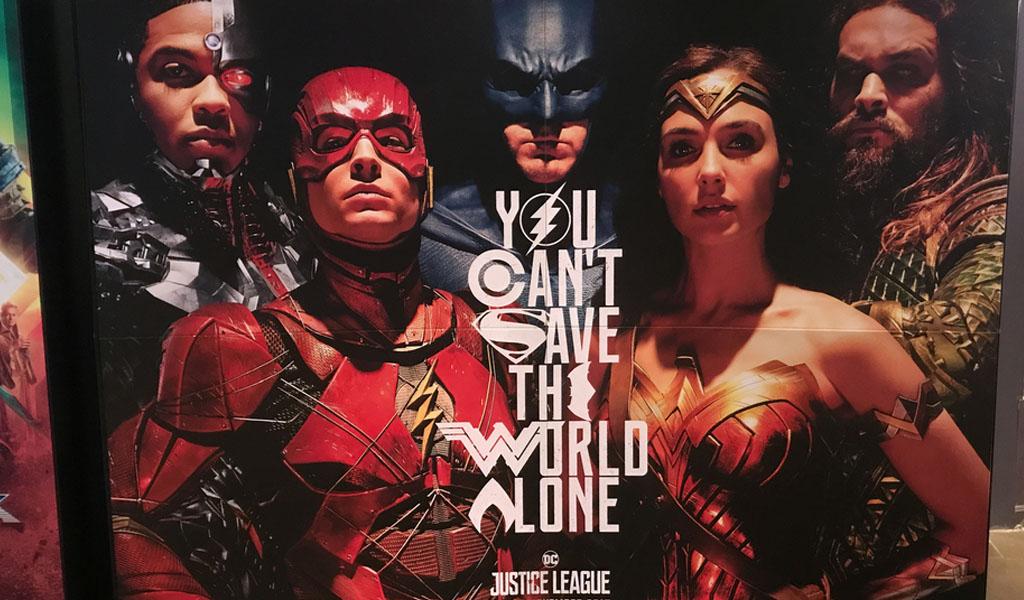 Llega la esperada película 'La Liga de la Justicia'