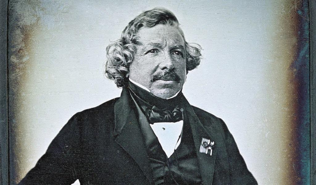 Louis Daguerre, uno de los padres de la fotografía