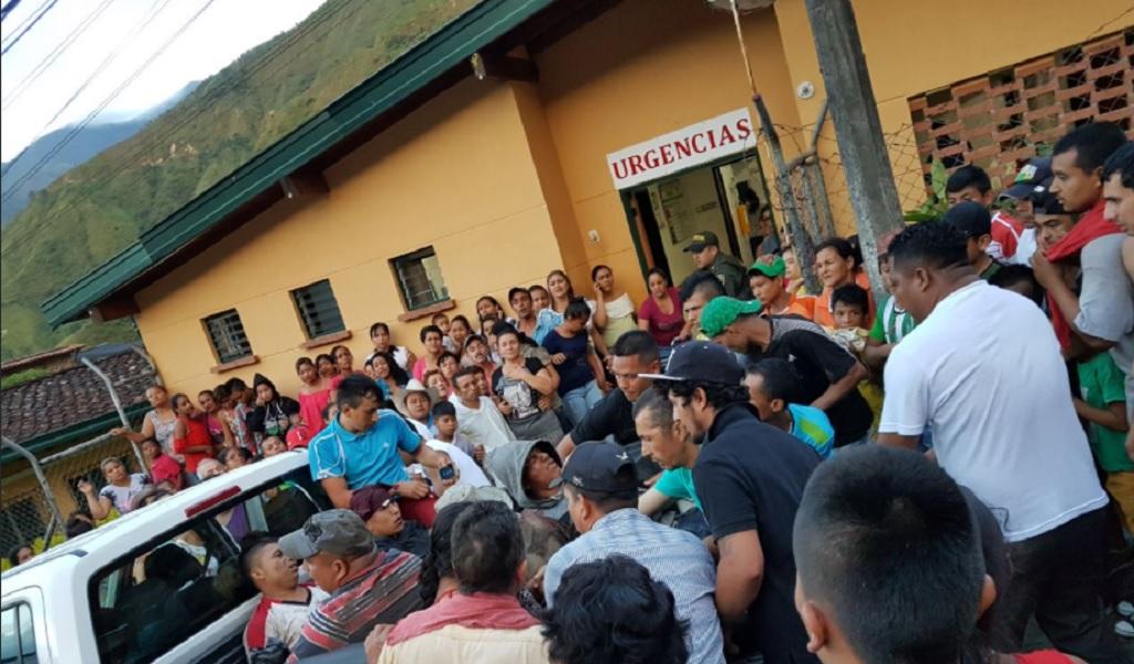 Se registra grave accidente en Sabanalarga, Antioquia