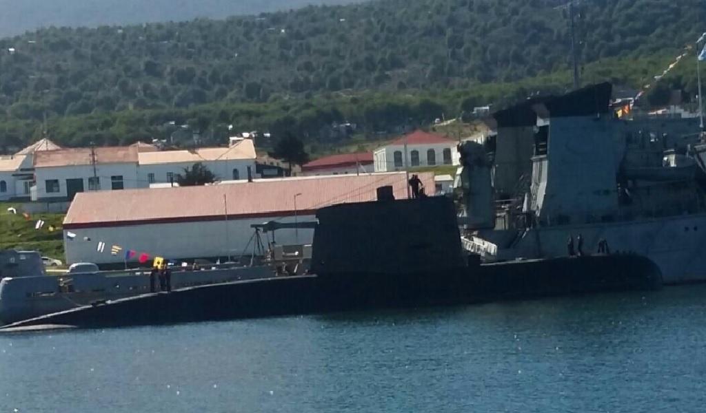Detectan señales del submarino desaparecido