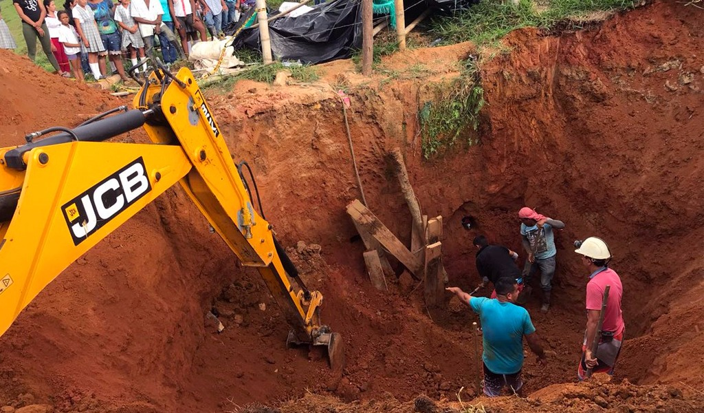 Dos muertos deja accidente en mina en San Roque