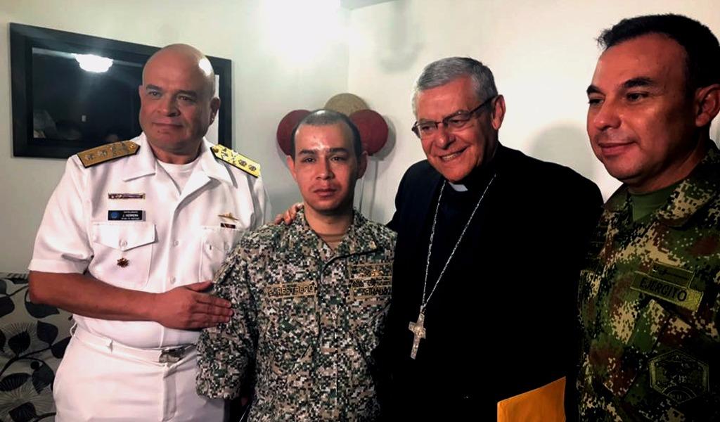 La carta del Papa Francisco a militar víctima del conflicto