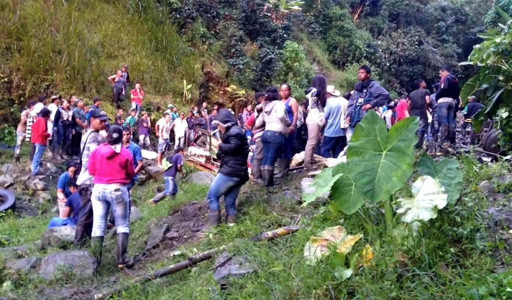 Luto en Antioquia por muerte de 14 personas en Sabanalarga