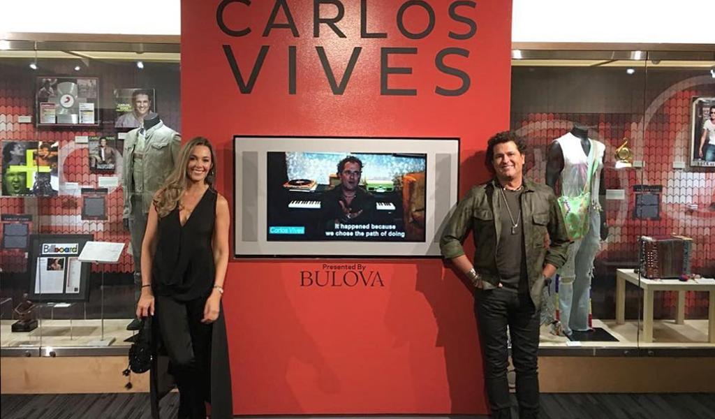 Carlos Vives tiene exposición en el museo de los Grammy