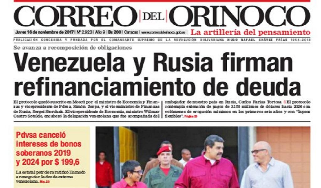 El medio Venezolano que no ve la realidad de su país