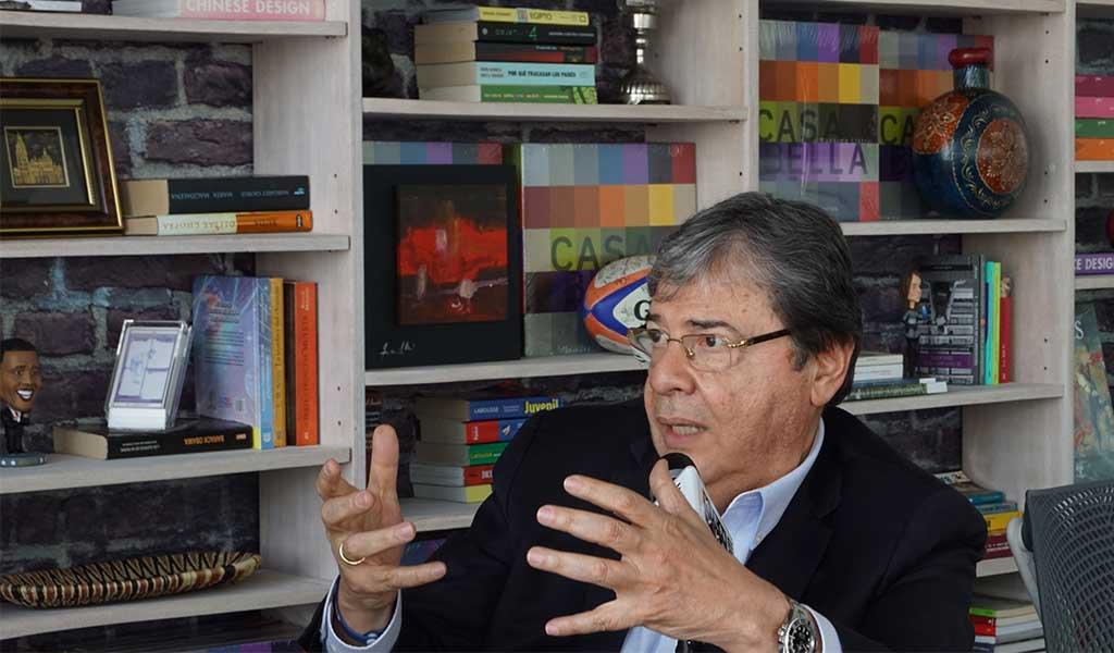 """Holmes Trujillo: """"Reviviría la Seguridad Democrática"""""""
