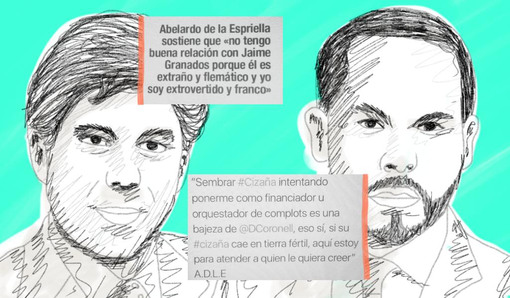 Daniel Coronell y Abelardo de la Espriella