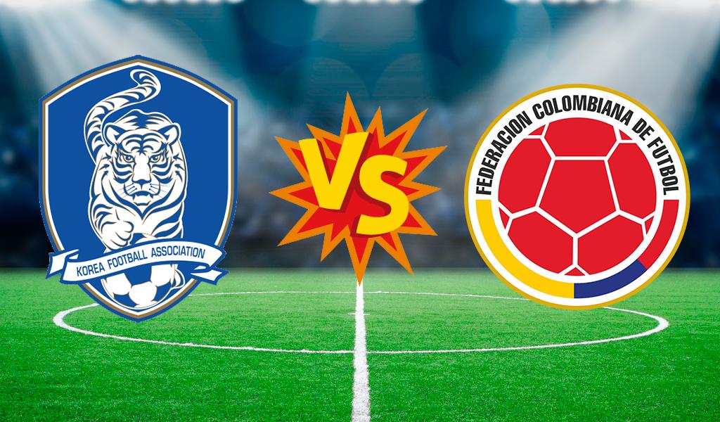 Corea vs Selección Colombia