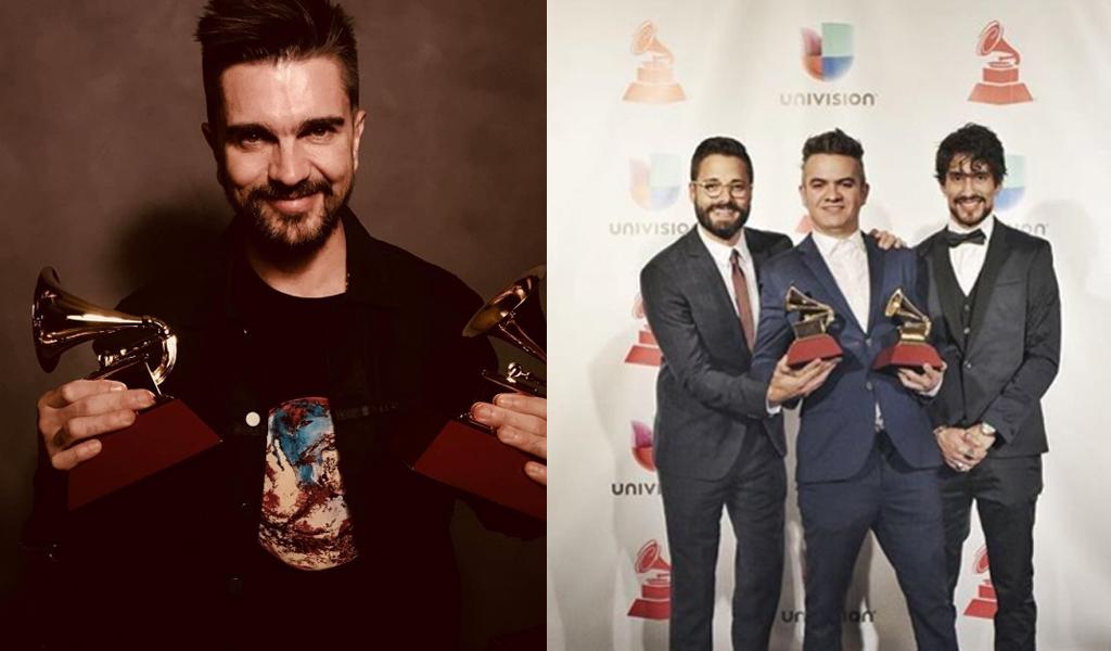 Ellos son los colombianos ganadores en los Grammy Latino