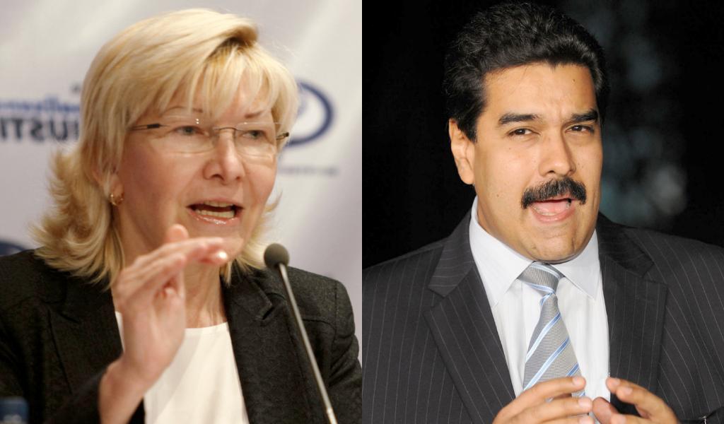 Luisa Ortega denuncia a Maduro en La Haya