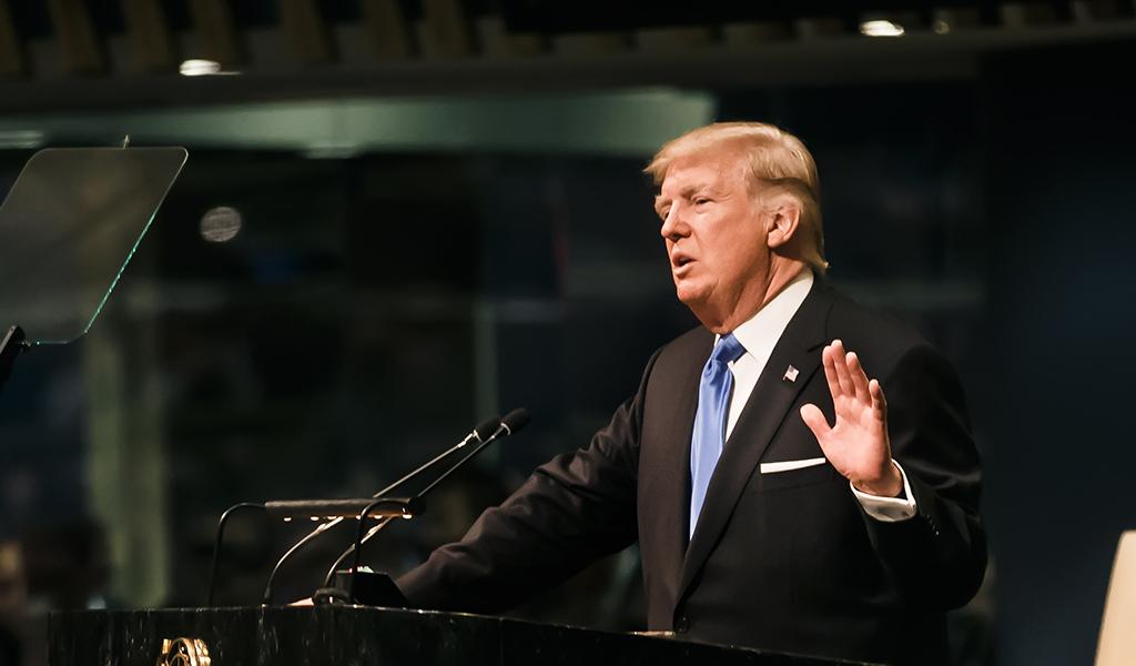 """""""¡Debemos construir el Muro y lo haremos!"""", Trump"""
