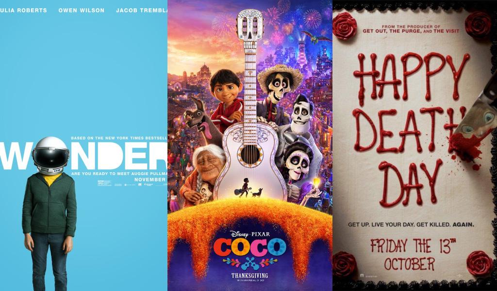 Cartelera de cine para el último fin de semana de noviembre