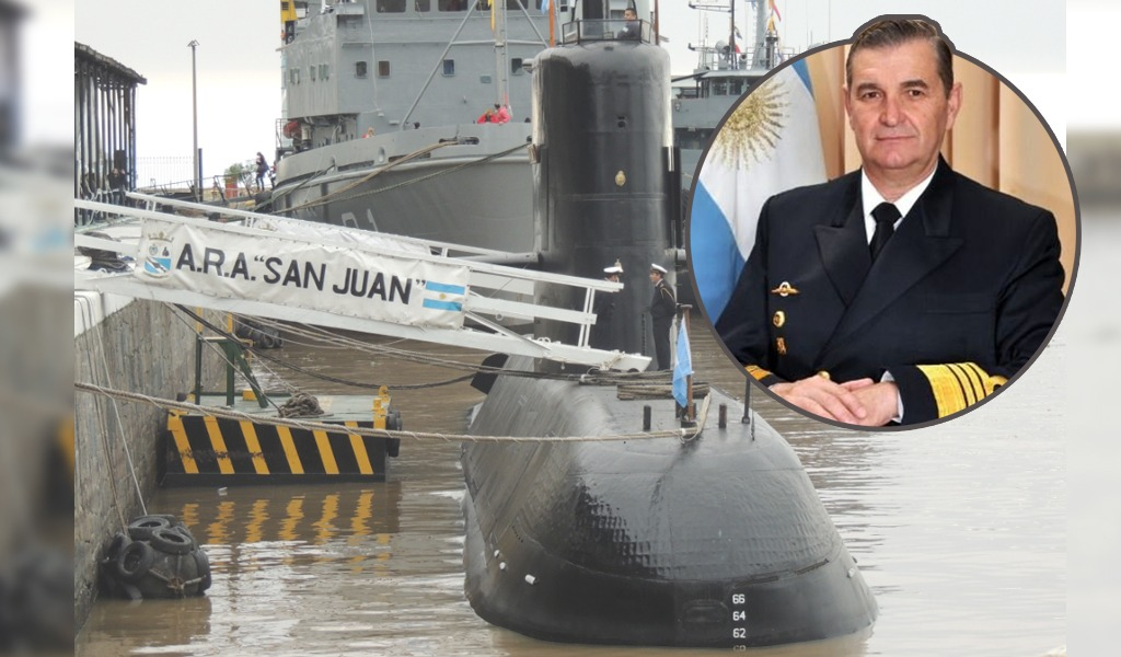 Destituyen al jefe de la Armada argentina