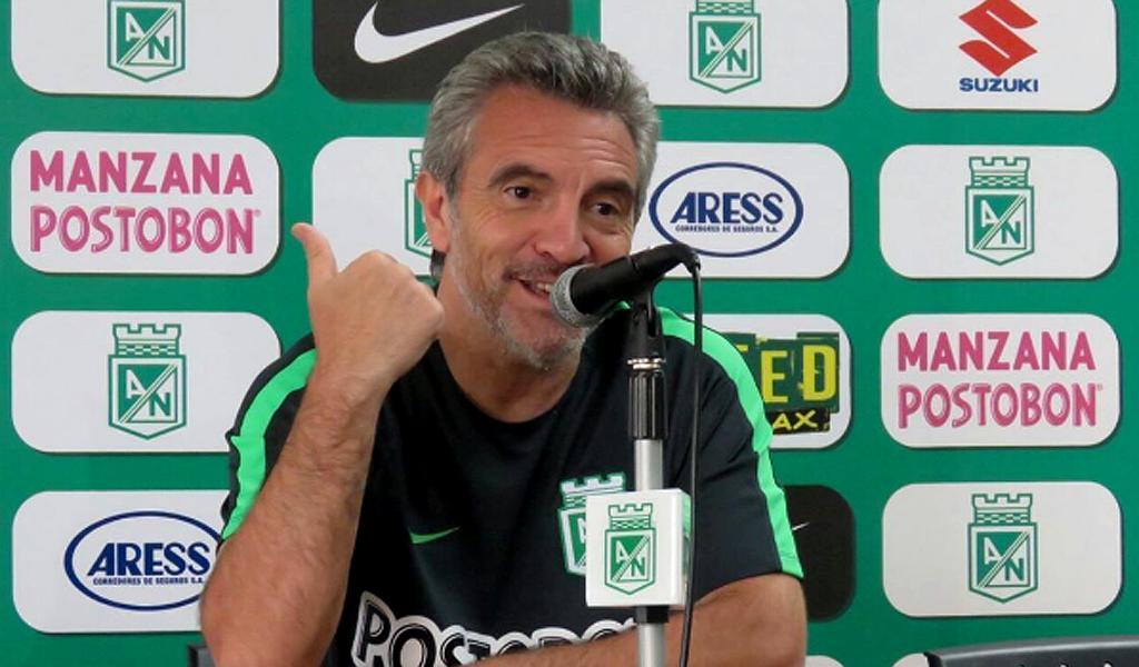 Juan Manuel Lillo no seguirá en Atlético Nacional