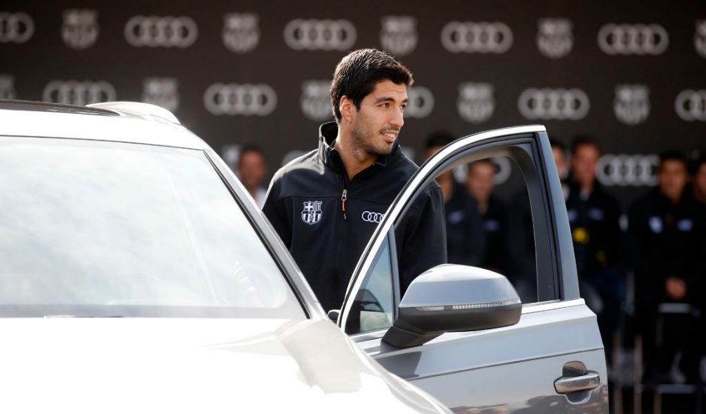 Los nuevos carros de los jugadores del Barcelona