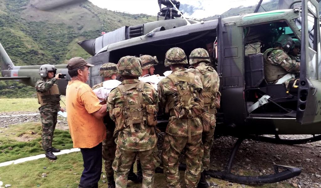 Campesino pisó mina antipersonal en Antioquia