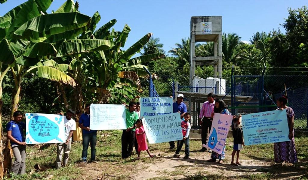 Agua potable llega a zonas rurales de Riohacha