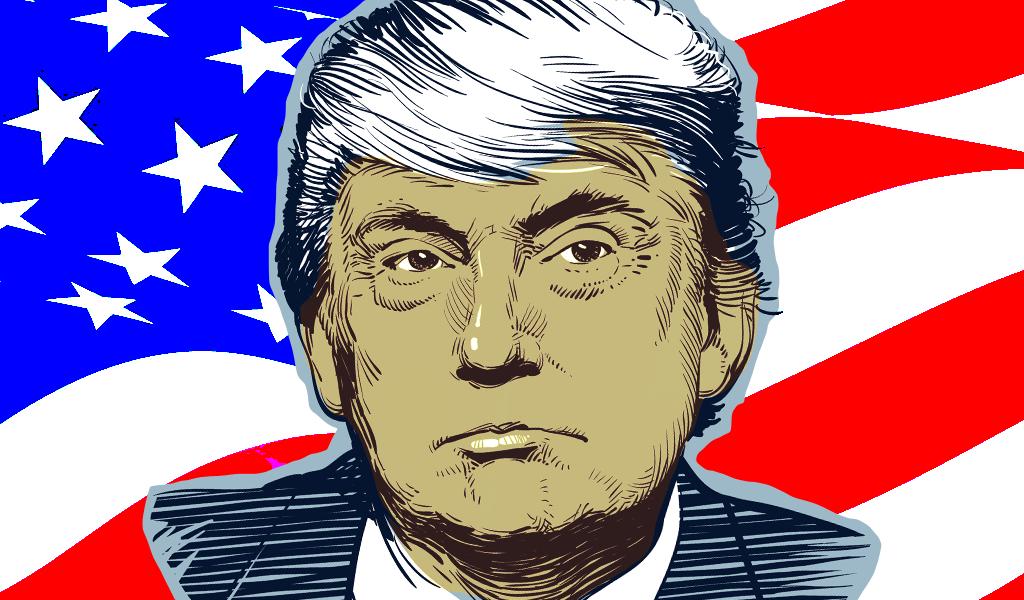Un día en la vida de Donald Trump