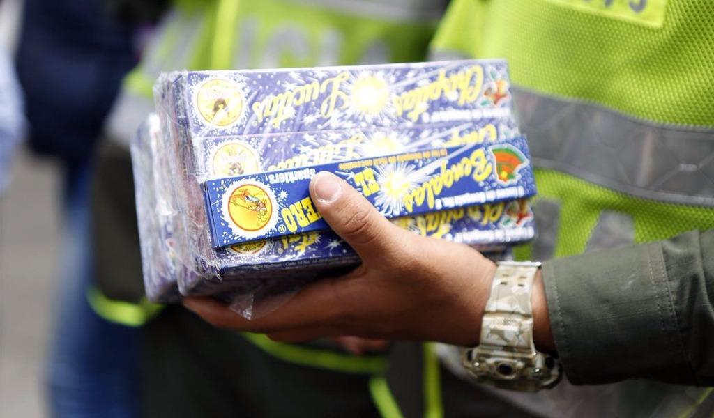 Así llega y se distribuye la pólvora que se vende en Bogotá