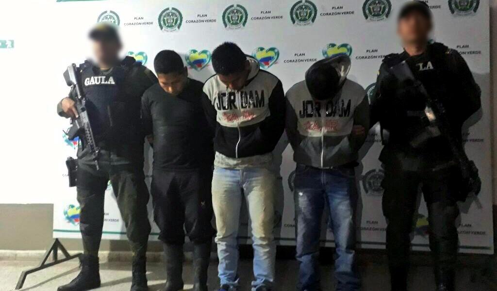 Tres secuestrados fueron rescatados en el Cauca