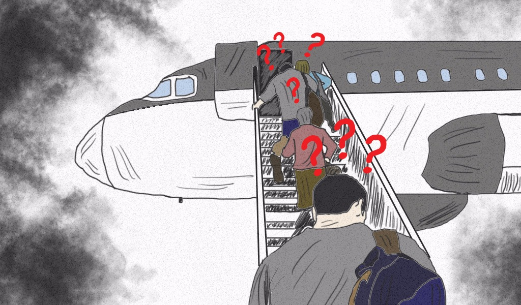 ¿Por qué se embarcan los aviones por el lado izquierdo?