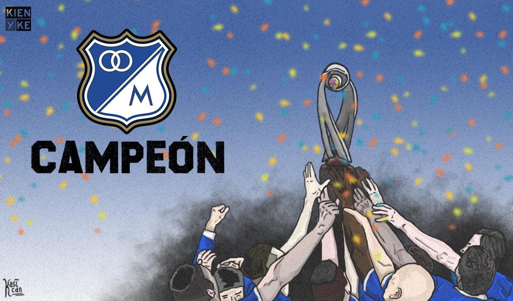 Millonarios, campeón de la SuperLiga 2018