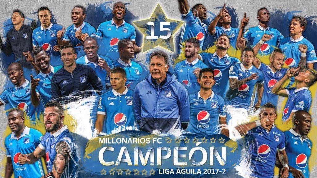 Millonarios, campeón de Colombia