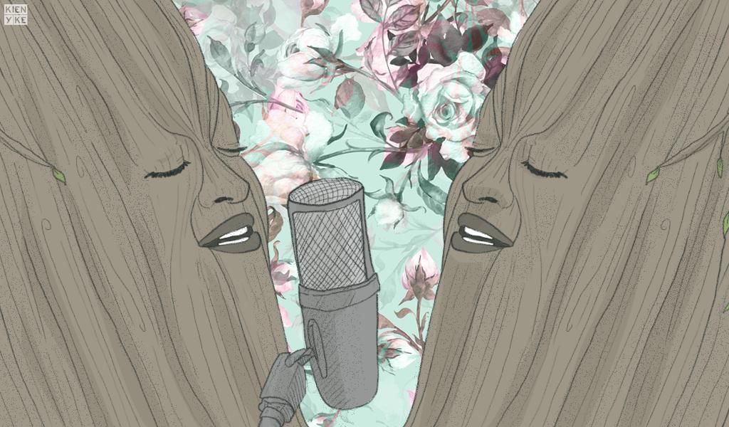 arboles cantando