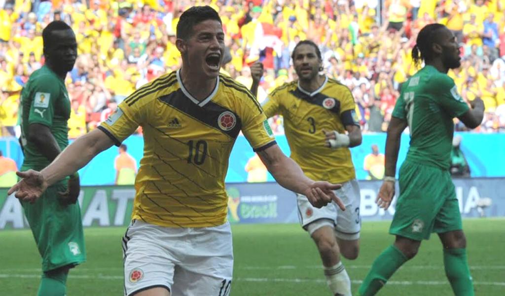 Selección Colombia James Rodríguez