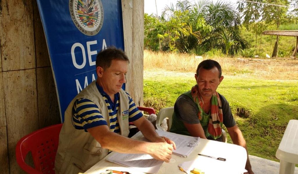 Misión OEA en Colombia se queda hasta 2021