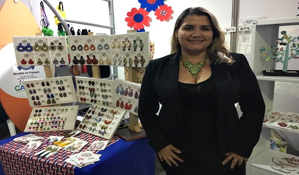 De matemática en Venezuela a artesana en Popayán