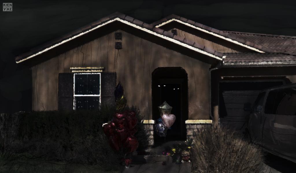 """Más detalles de la """"casa del terror"""" en California"""