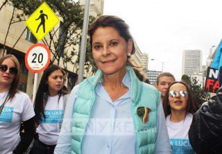 La vicepresidenta Marta Lucía fue aplaudida en Twitter