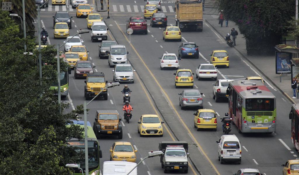 Carros en Bogotá