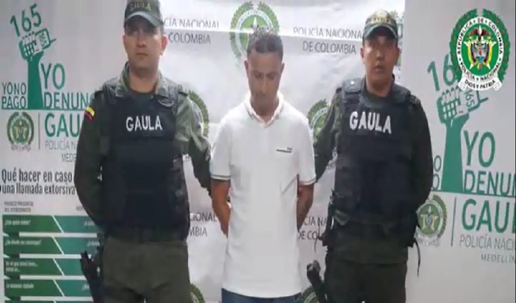 Yumbo, el cabecilla criminal que cayó en Medellín