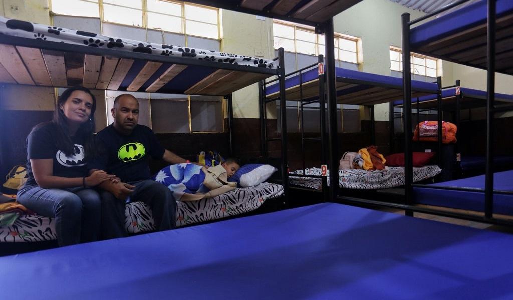Abren centro de atención para migrantes venezolanos