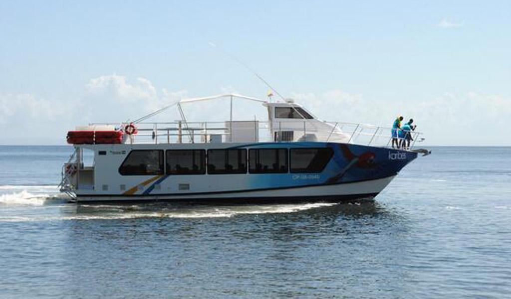 Lancha naufragó con 20 inmigrantes en el Golfo de Urabá
