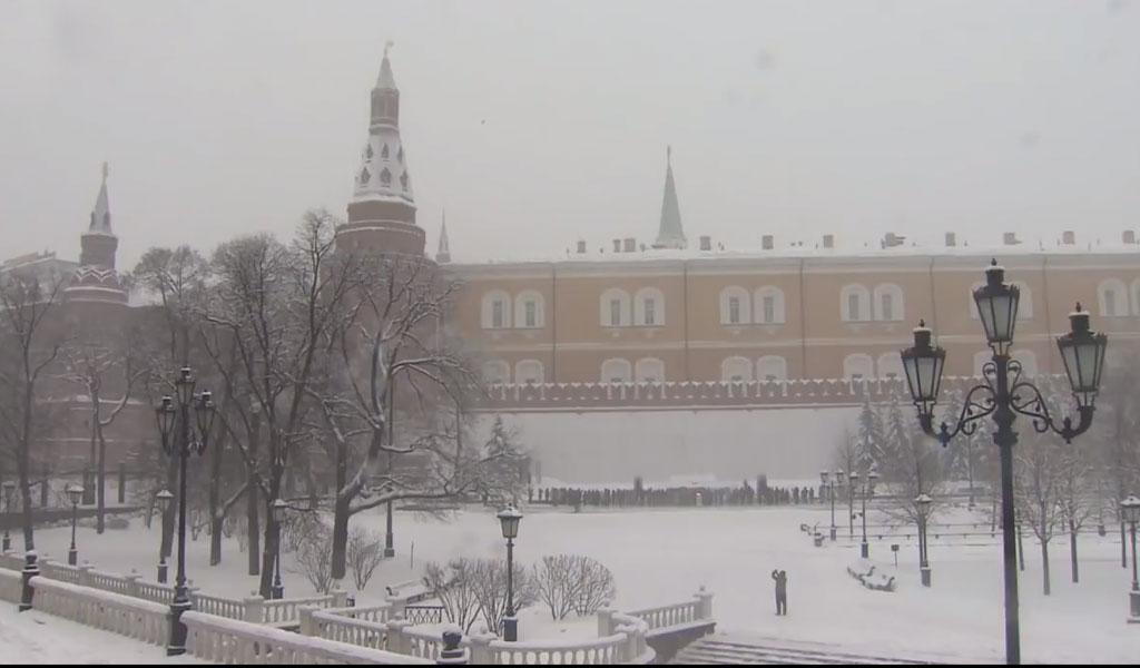 Moscú sufre la peor ola invernal de su historia