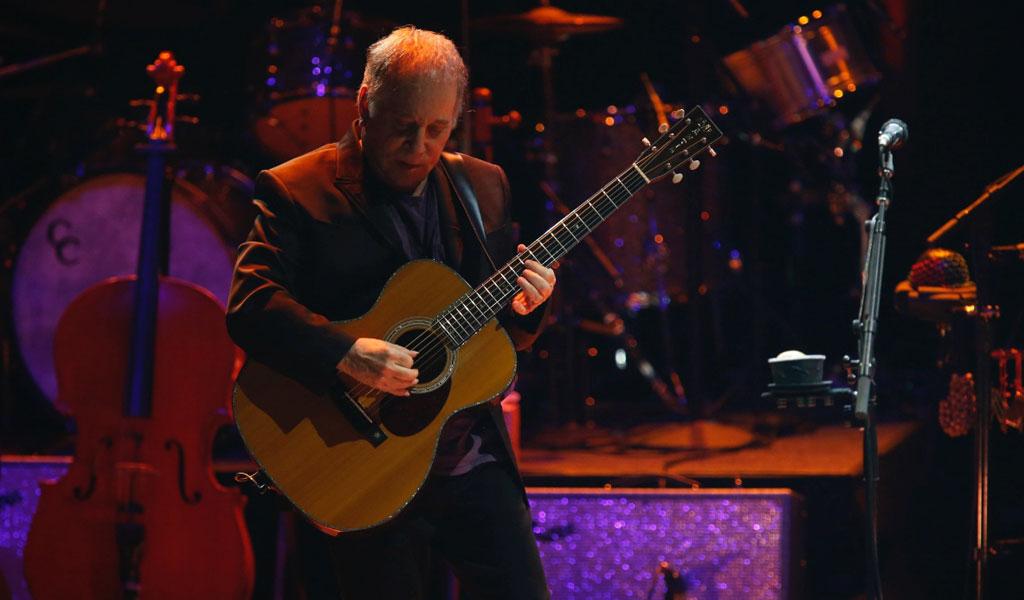 Paul Simon deja los escenarios musicales